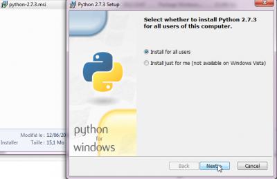 Executer Python2.7.3.exe