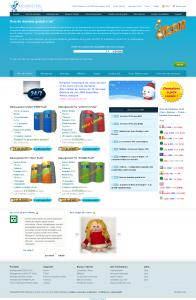 Design de la homepage Agsahosting